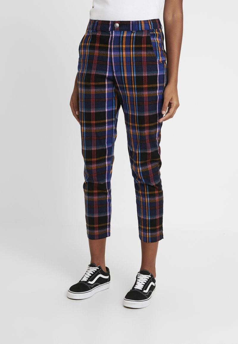 Hollister Co. - OXFORD TAPERED PANT - Trousers - navy