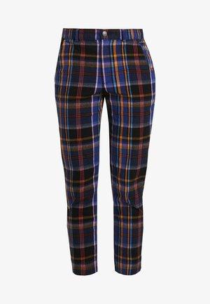 OXFORD TAPERED PANT - Kalhoty - navy