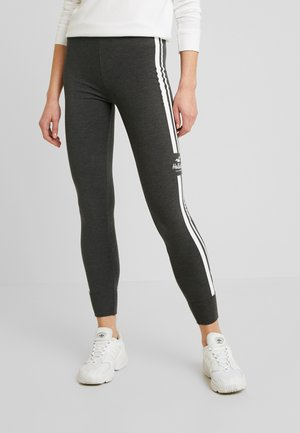 SPORTY LOGO FLEGGING - Legging - dark grey