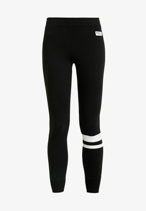 SPORTY LOGO FLEGGING - Leggings - black
