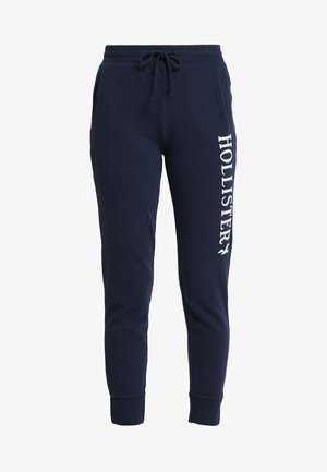 LOGO JOGGER - Tracksuit bottoms - navy