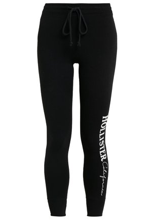 LOGO FLEGGING - Leggings - Trousers - black