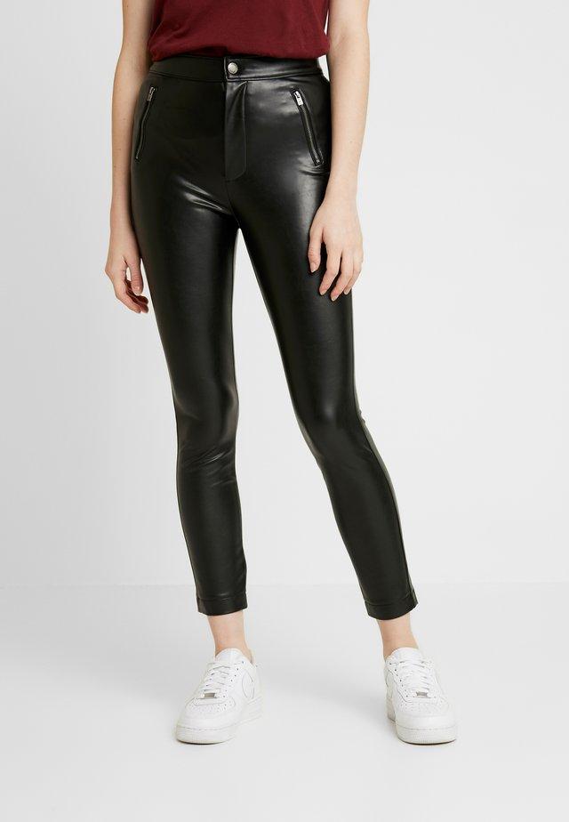 SUPERSKINNY - Pantalon classique - black