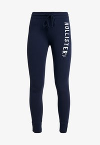 Hollister Co. - TIMELESS FLEGGING - Teplákové kalhoty - navy - 4