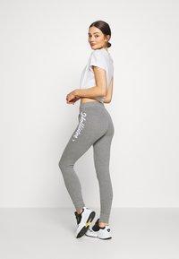 Hollister Co. - LOGO FLEGGING - Teplákové kalhoty - grey - 2