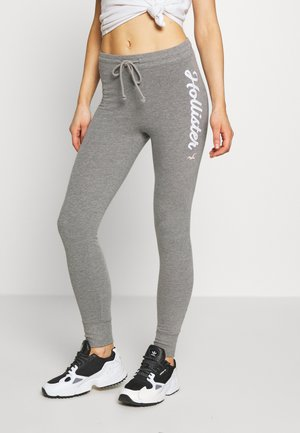 LOGO FLEGGING - Tracksuit bottoms - grey