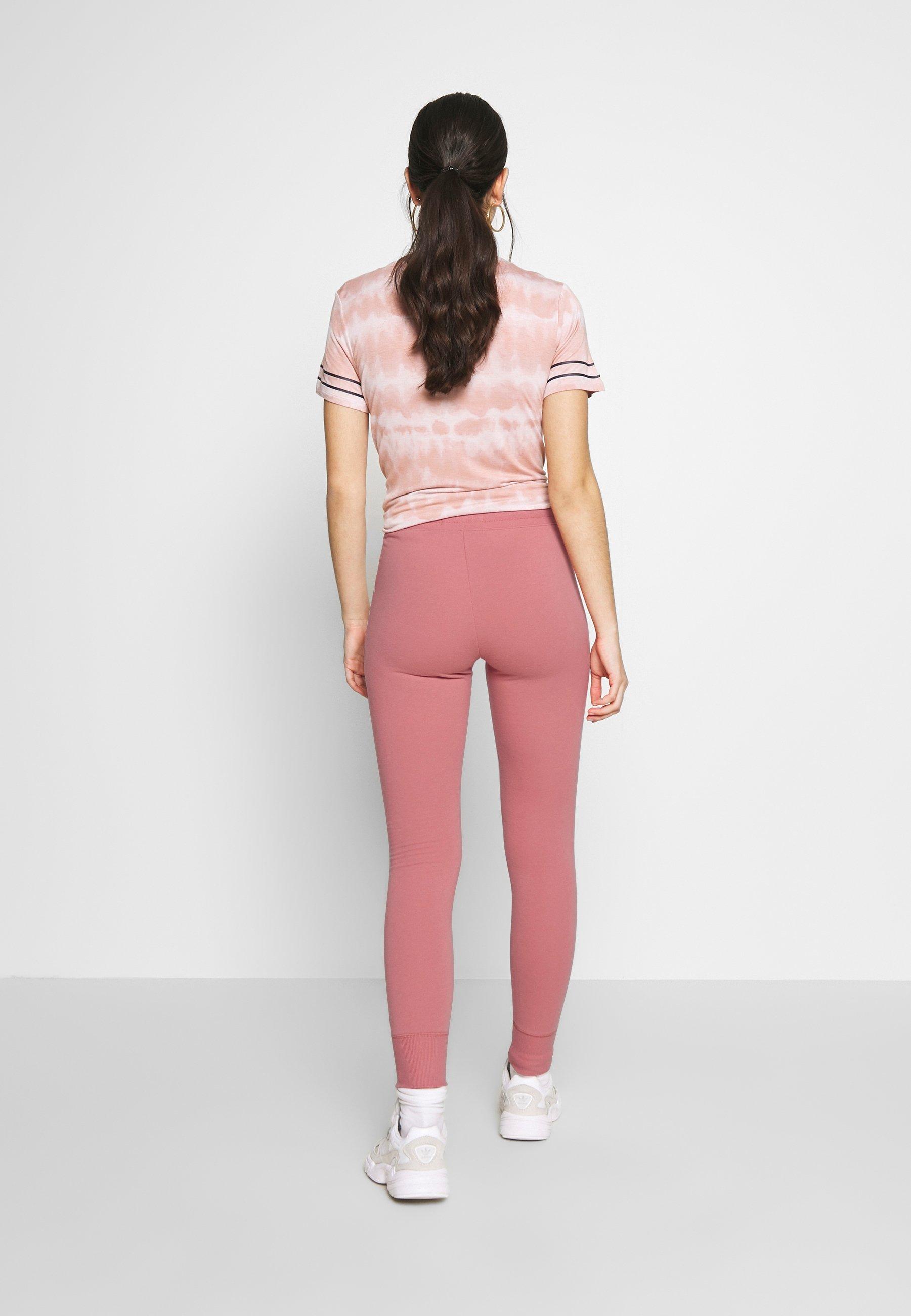 Hollister Co. LOGO FLEGGING - Spodnie treningowe - pink