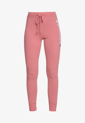 LOGO FLEGGING - Tracksuit bottoms - pink