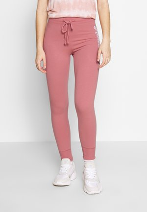 LOGO FLEGGING - Pantalones deportivos - pink
