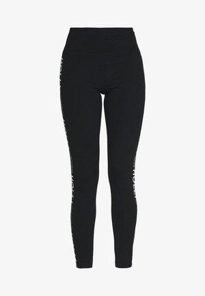 GRAPHIC - Teplákové kalhoty - black