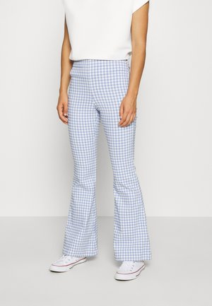 FLARE  - Trousers - blue