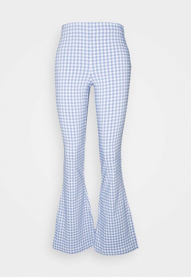 FLARE  - Pantalones - blue