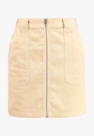 SKIRT - Mini skirts  - tan