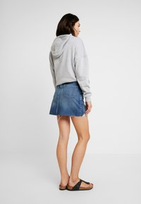 Hollister Co. - SKIRT - Falda vaquera - dark wash