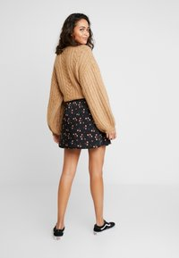 Hollister Co. - MINI SKIRT - Miniskjørt - black - 2