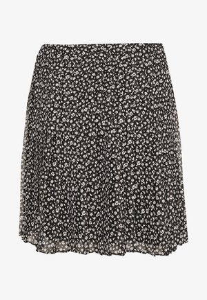 PLEATED SKIRT - A-line skjørt - black