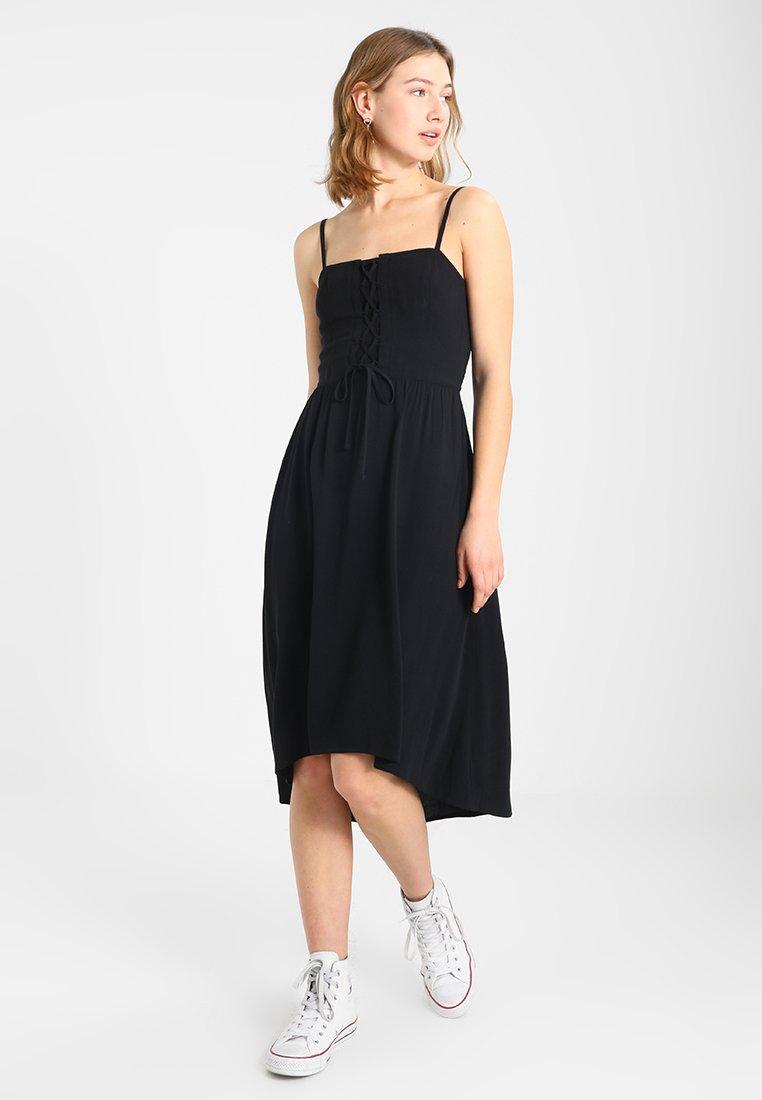 CoMidi Black DressRobe Hollister D'été 8wyN0Onmv