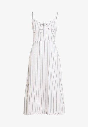 MIDI DRESS - Korte jurk - white