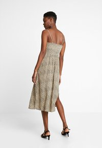 Hollister Co. - MIDI DRESS - Kjole - beige/black - 2