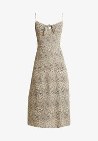 Hollister Co. - MIDI DRESS - Kjole - beige/black - 3