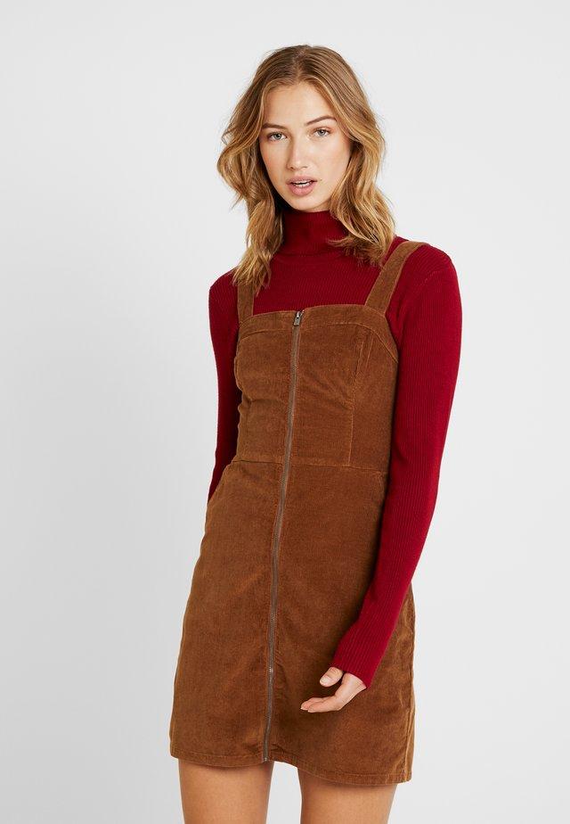 SHORT DRESS - Vestido informal - tan