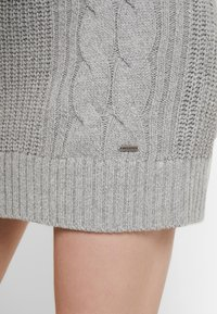 Hollister Co. - BACK DRESS - Jumper dress - grey - 3