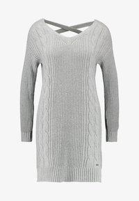 Hollister Co. - BACK DRESS - Jumper dress - grey - 4