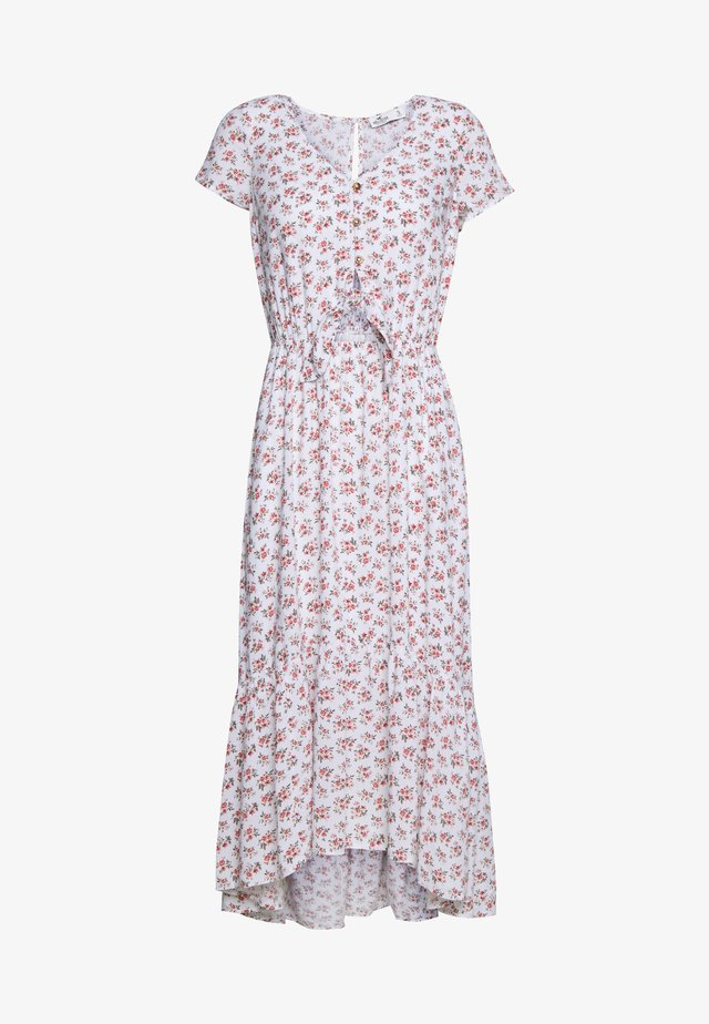 PRETTY MIDI DRESS - Skjortklänning - white