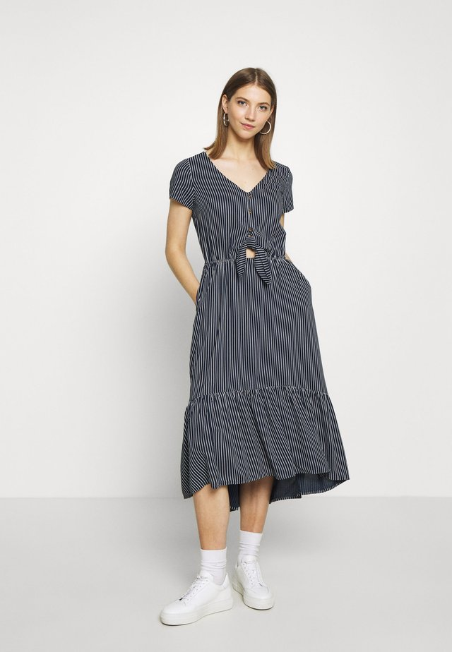 PRETTY MIDI DRESS - Blousejurk - navy