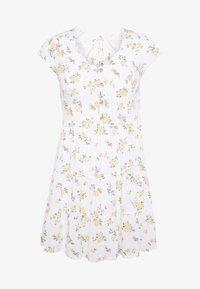 Hollister Co. - TIERED SHORT DRESS - Skjortekjole - white - 4