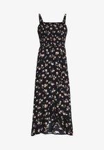 STRAPLESS MAXI DRESS  - Vestito lungo - black