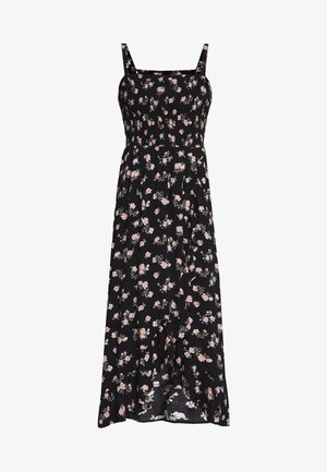 STRAPLESS MAXI DRESS  - Maxi dress - black