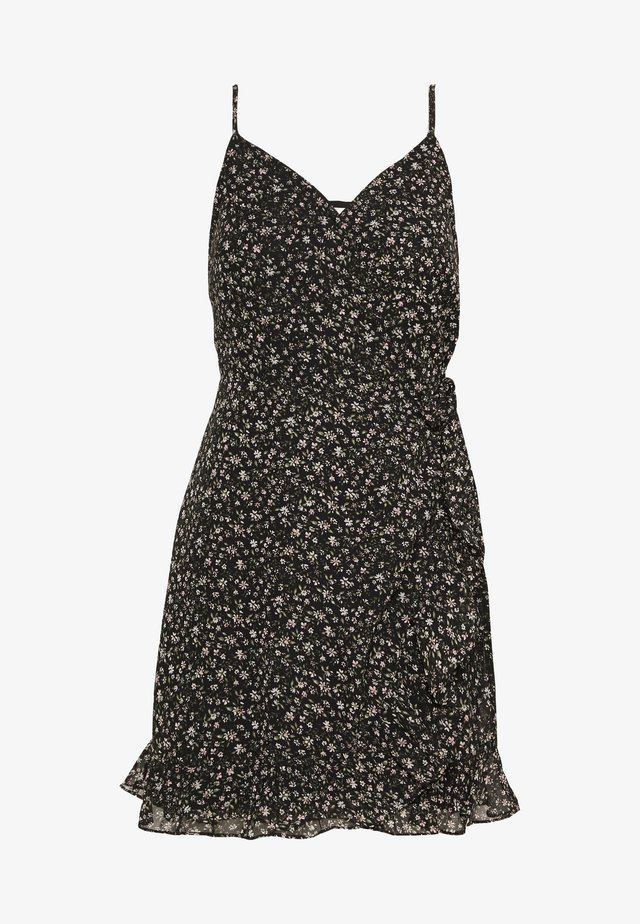 BARE SHORT DRESS - Vestido informal - black