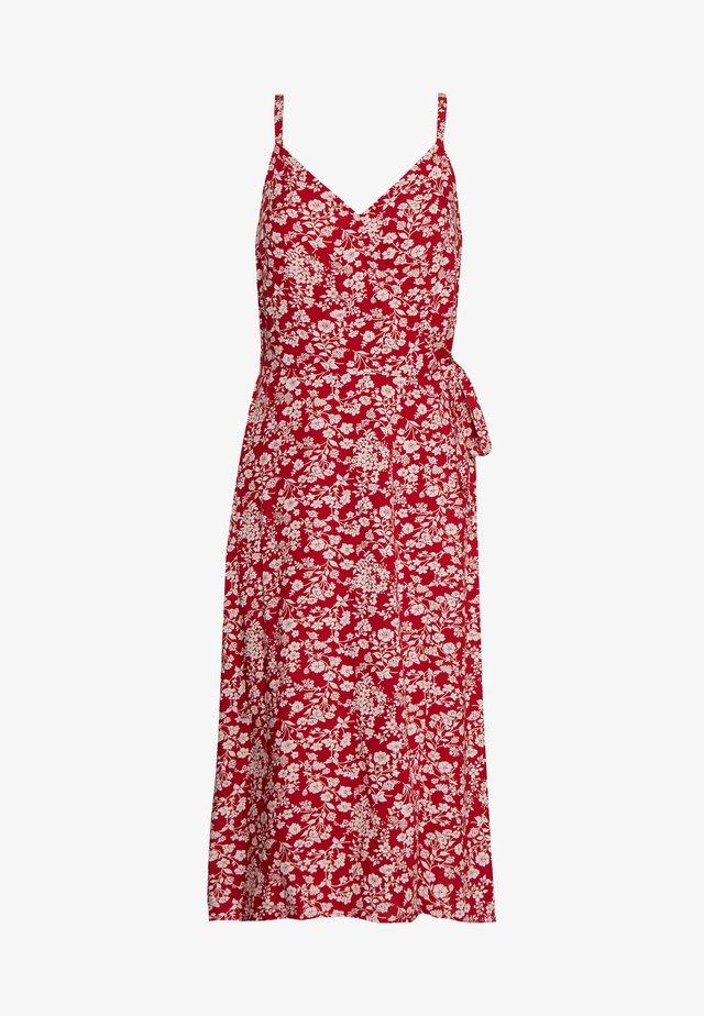 MIDI DRESS - Korte jurk - red