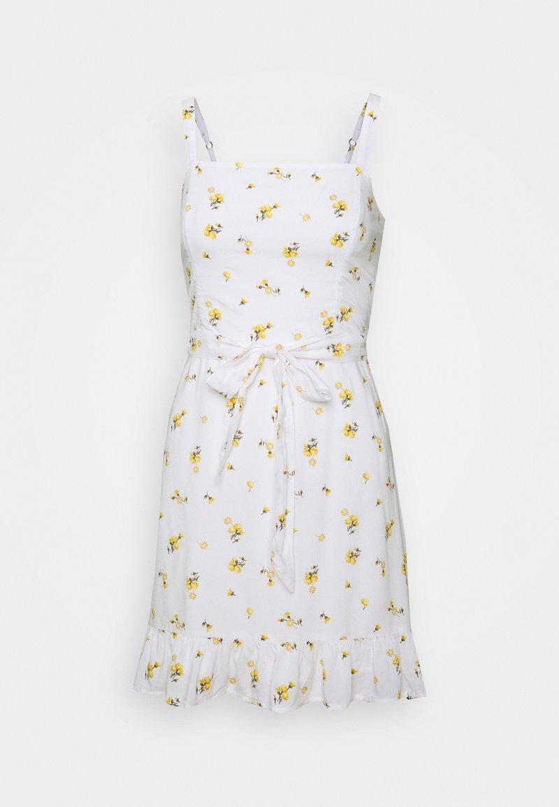 Hollister Co. - VOL DRIVE BARE DRESS - Korte jurk - white