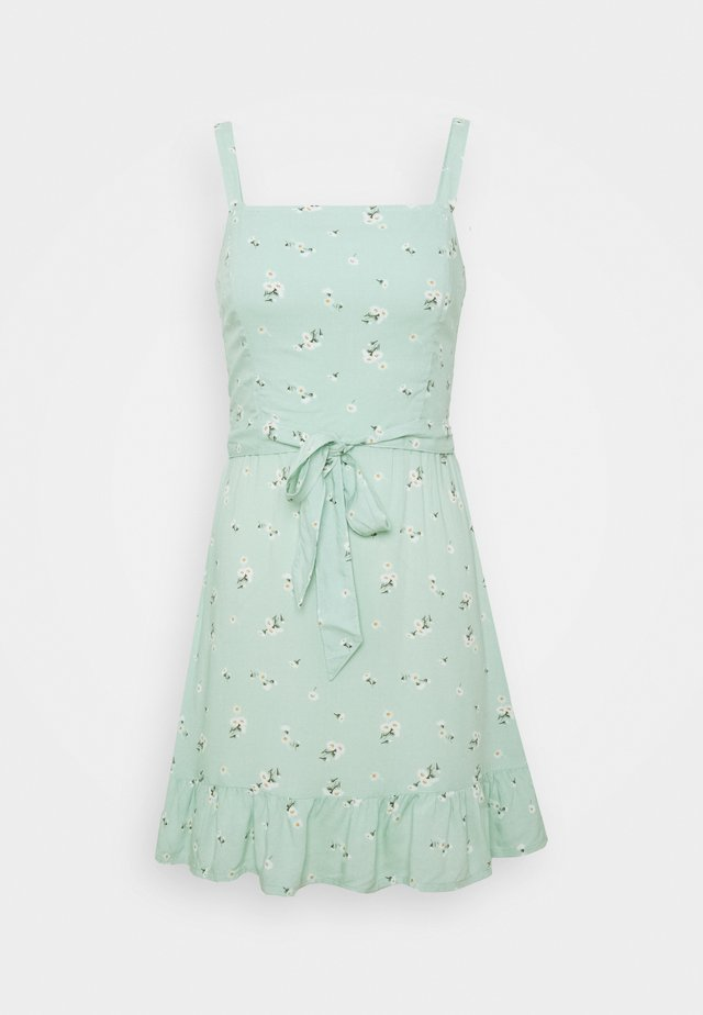 VOL DRIVE BARE DRESS - Korte jurk - mint