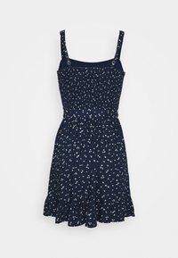 Hollister Co. - VOL DRIVE BARE DRESS - Day dress - navy - 1