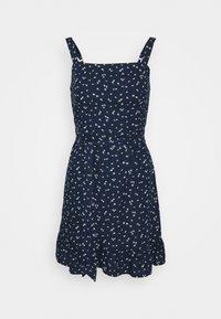 Hollister Co. - VOL DRIVE BARE DRESS - Day dress - navy - 0