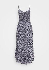 Hollister Co. - BARE MIDI DRESS - Vestido informal - blue - 1