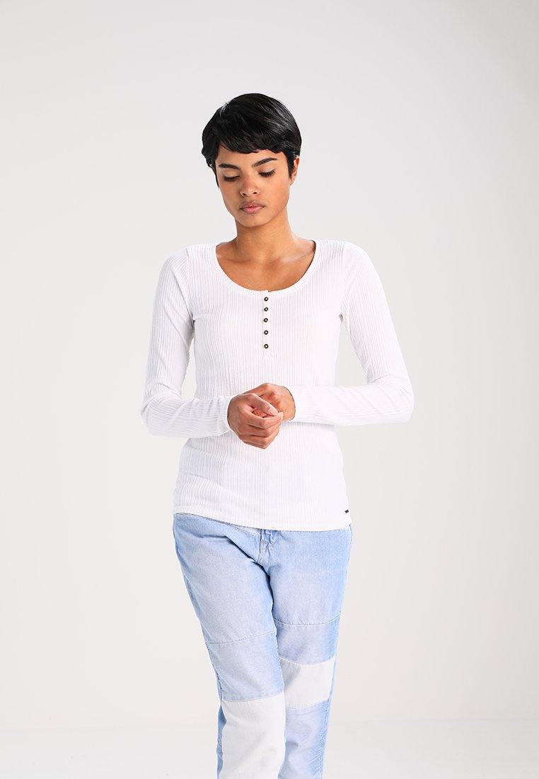 Hollister Co. - MUST HAVE - Langarmshirt - white