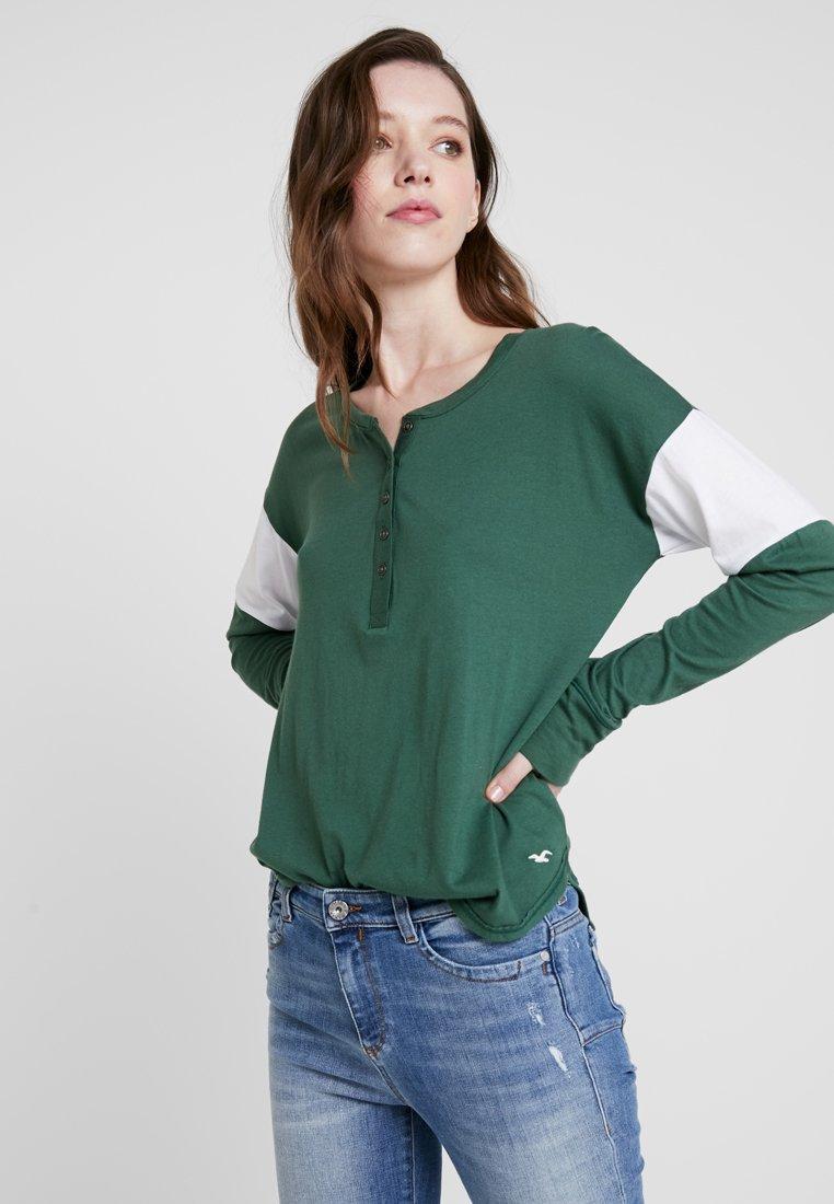 Hollister Co. - Langarmshirt - green