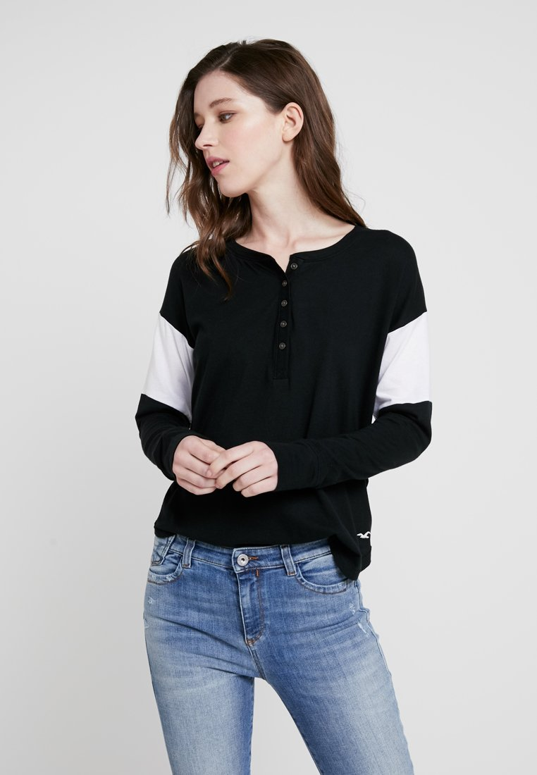 Hollister Co. - Long sleeved top - black