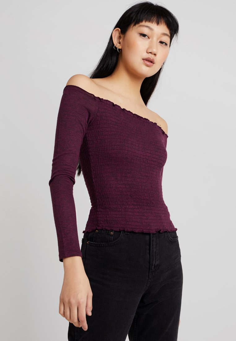 Hollister Co. - Jersey de punto - purple