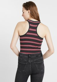 Hollister Co. - HIGH NECK BODYSUIT - Top - black