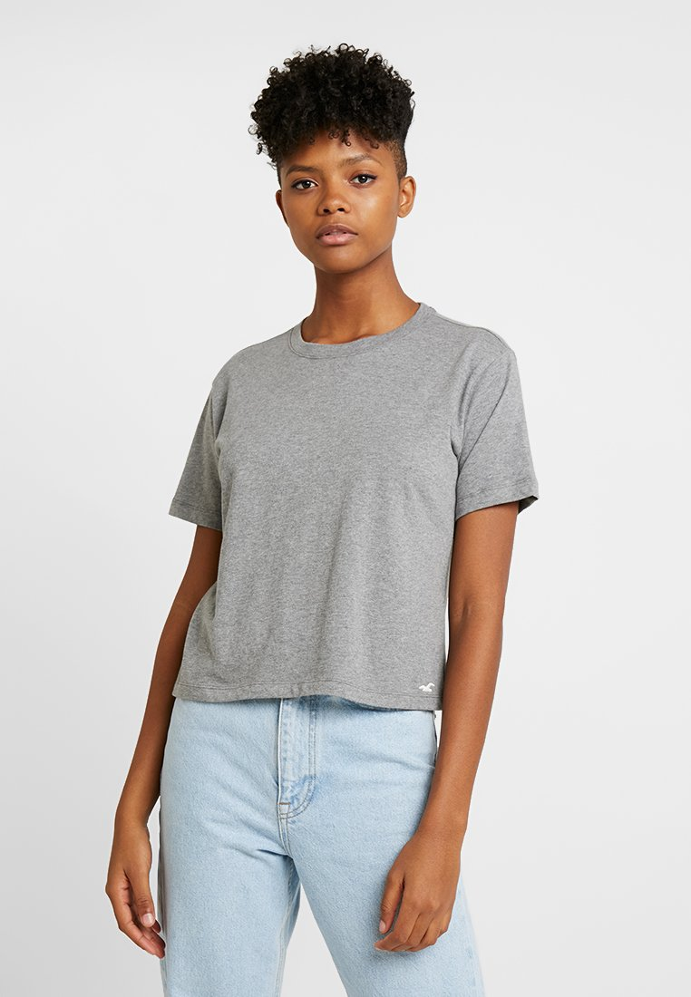 Hollister Co. - PERFECT MEET & GREET TEE - T-Shirt basic - grey