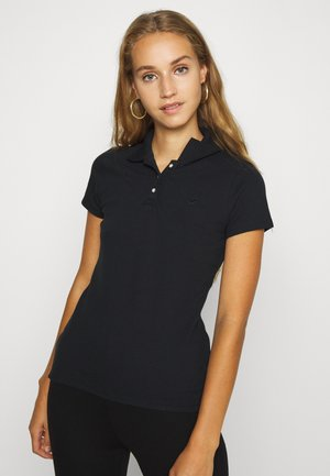 SHORT SLEEVE CORE - Polo shirt - black