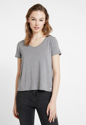 SHORT SLEEVE EASY TEE - Basic T-shirt - grey