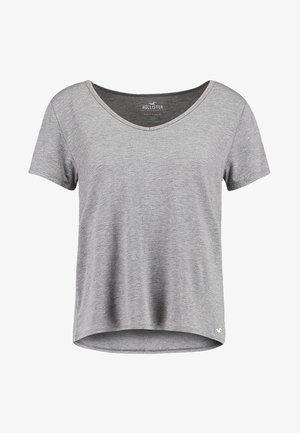SHORT SLEEVE EASY TEE - T-shirts basic - grey