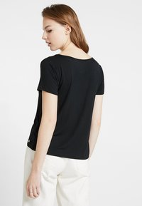 Hollister Co. - SHORT SLEEVE EASY TEE - T-shirt basic - black - 2