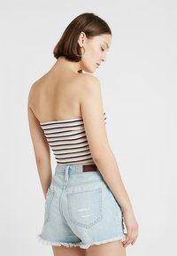 Hollister Co. - SLIM CROP TUBE - Top - pink - 2